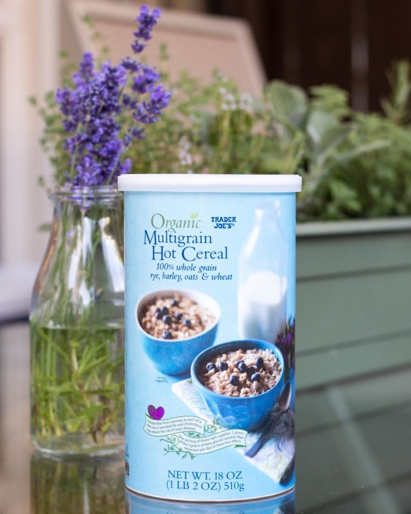 trader joe's organic multigrain hot cereal