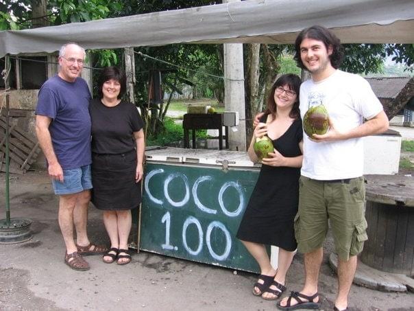 coco gelado stand brazil