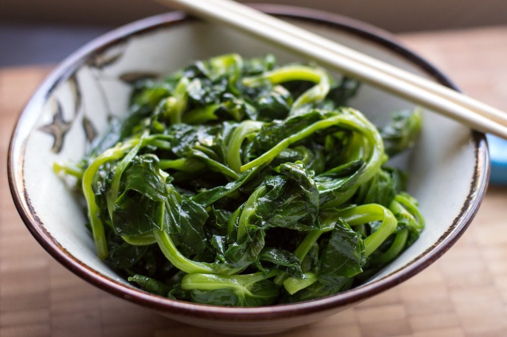 stir fried asian greens