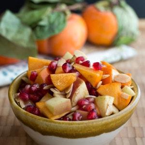 Thanksgiving Fruit Salad Lefty Spoon