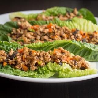 Spicy Turkey Lettuce Boats
