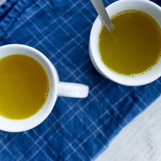 Honey Lemon Turmeric Tea