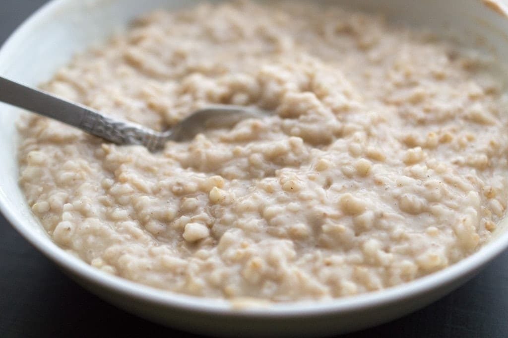Instant Pot Steel-Cut Oats | Lefty Spoon