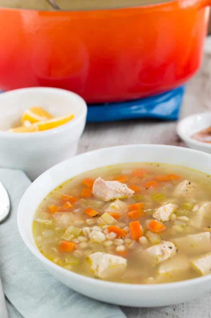 Night 2: Chicken and Barley Soup