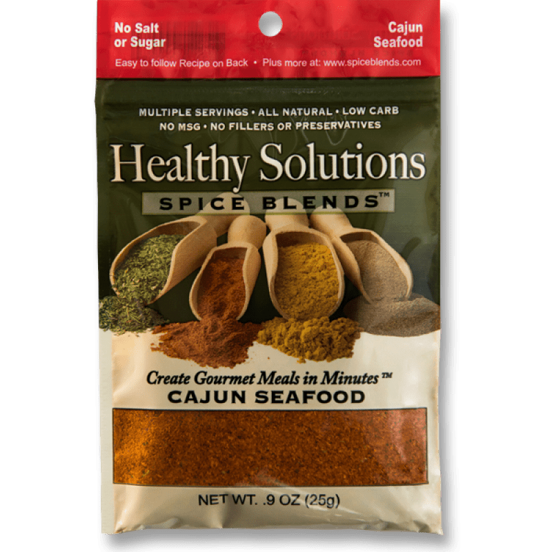 healthy solutions cajun-seafood