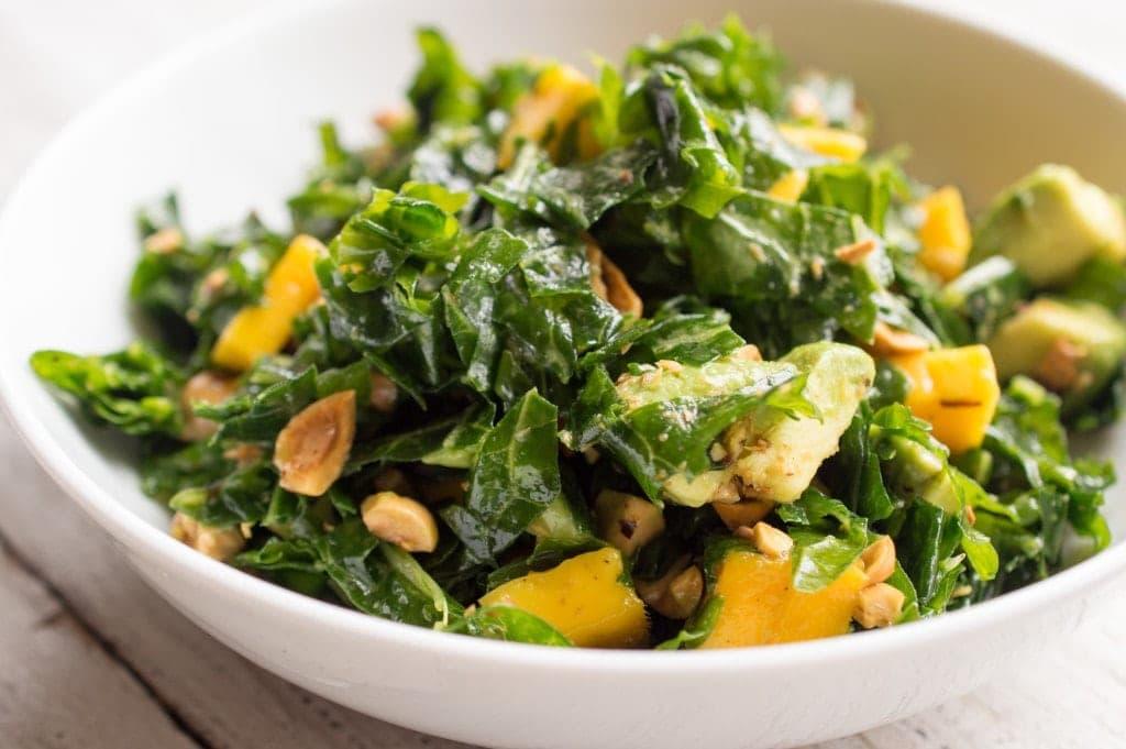 massaged-kale-salad-avocado-mango-hazelnut