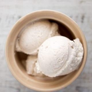 Coconut Vanilla Bean Ice Cream