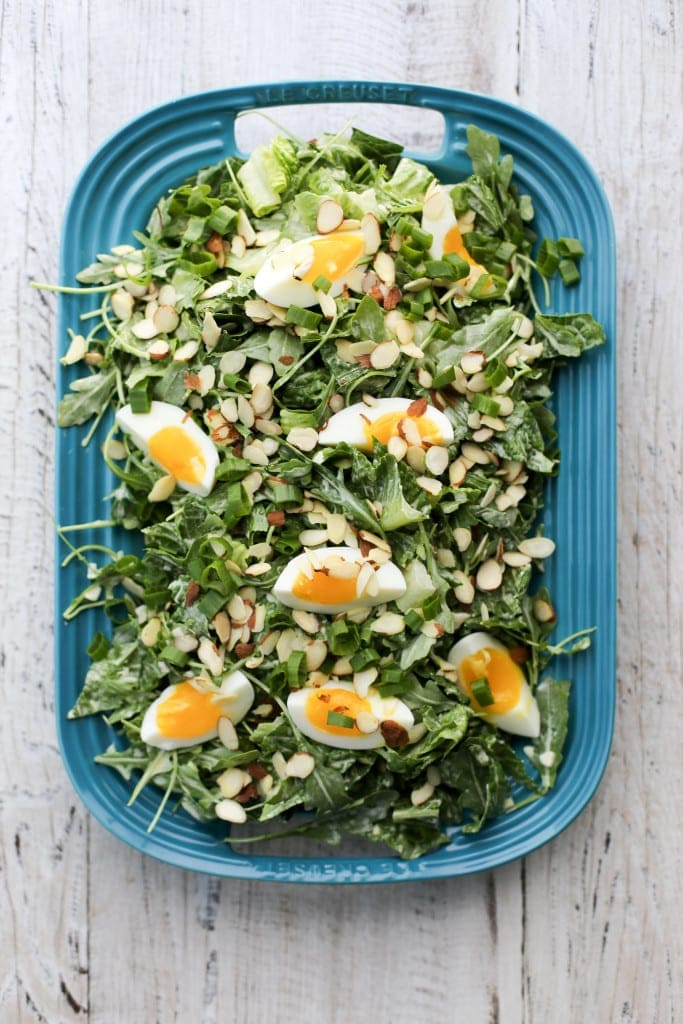 Greens with Creamy Dressing (p. 71)