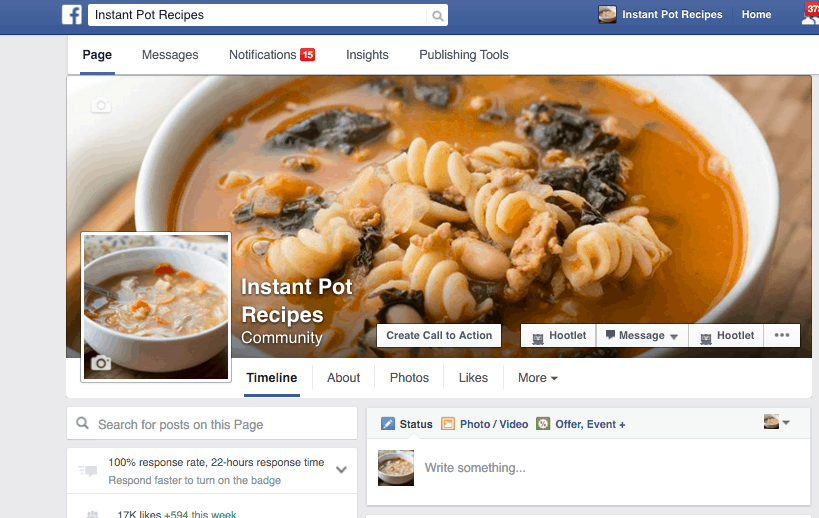 instant pot facebook group