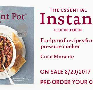 Pre-Order The Essential Instant Pot Cookbook!