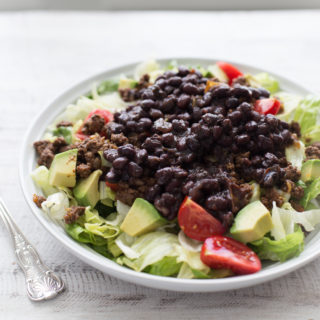 🌮Instant Pot Black Beans (for tostadas, tacos, bowls, and burritos)🌯
