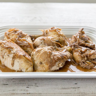 Instant Pot Recipe: Whole Chicken with Onion Gravy