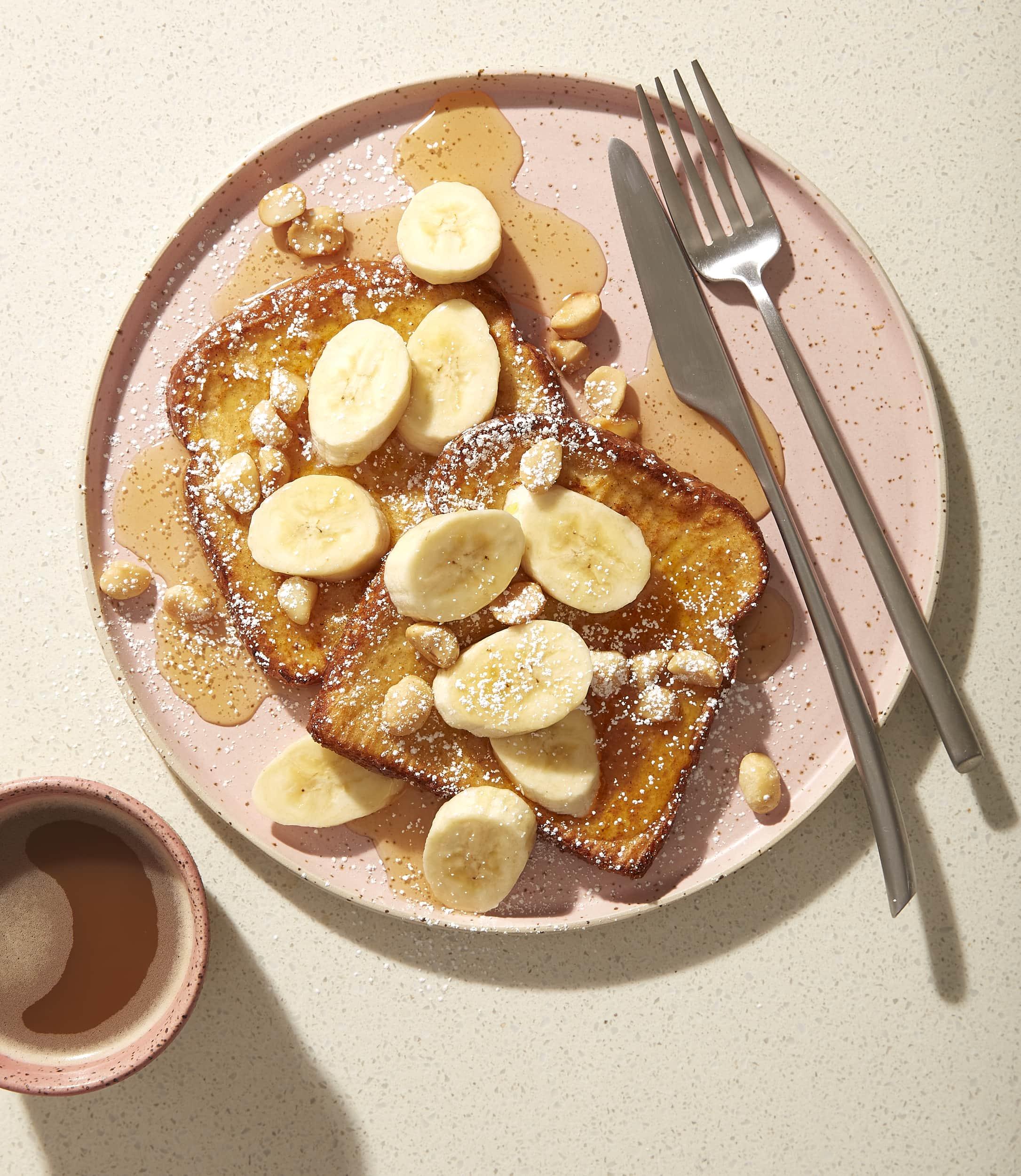 Macadamia-Banana French Toast